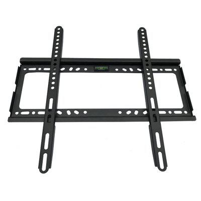 Flat TV Wall Mount Bracket 26 - 63 inch HolderTV Wall Mount<br>Flat TV Wall Mount Bracket 26 - 63 inch Holder<br><br>Color: Black<br>Material: Stainless Steel<br>Package Contents: 1 x Universal Wall Mount Bracket, 1 x Screw Pack<br>Package size (L x W x H): 49.00 x 45.00 x 7.00 cm / 19.29 x 17.72 x 2.76 inches<br>Package weight: 1.0300 kg<br>Product size (L x W x H): 46.50 x 43.00 x 5.00 cm / 18.31 x 16.93 x 1.97 inches<br>Product weight: 0.8000 kg