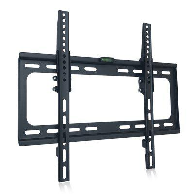 Universal TV Wall Mount Bracket 26 - 55 inch HolderTV Wall Mount<br>Universal TV Wall Mount Bracket 26 - 55 inch Holder<br><br>Color: Black<br>Material: Stainless Steel<br>Package Contents: 1 x Universal Wall Mount Bracket, 1 x Screw Pack<br>Package size (L x W x H): 50.00 x 45.00 x 7.00 cm / 19.69 x 17.72 x 2.76 inches<br>Package weight: 1.4300 kg<br>Product size (L x W x H): 46.50 x 43.00 x 5.00 cm / 18.31 x 16.93 x 1.97 inches<br>Product weight: 1.2000 kg