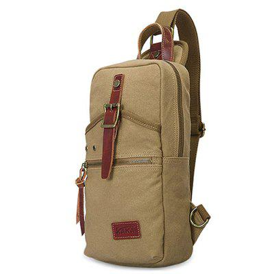 Leisure Fashion Canvas Shoulder Bag for MenCrossbody Bags<br>Leisure Fashion Canvas Shoulder Bag for Men<br><br>Features: Wearable<br>Gender: Men<br>Material: Canvas<br>Package Size(L x W x H): 17.00 x 3.00 x 30.00 cm / 6.69 x 1.18 x 11.81 inches<br>Package weight: 0.5400 kg<br>Packing List: 1 x Shoulder Bag<br>Product weight: 0.4900 kg<br>Style: Casual, Fashion<br>Type: Shoulder bag