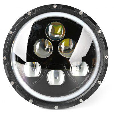 7 inch 60W Inverted Triangle Car LED CREE Headlamp  for Harley Davidson Motorcycle / 07 - 14 JEEP Wrangler