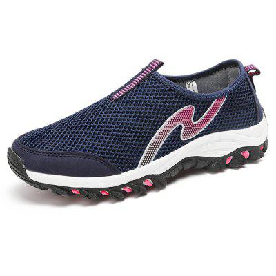 Respirável Outdoor Slip-on Casual Shoes para Mulheres