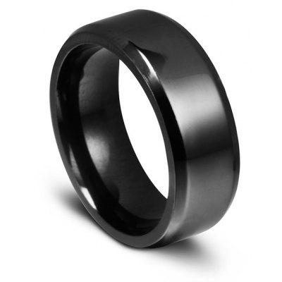 Unisex 8MM Titanium Steel Ring