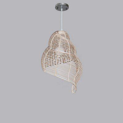 Rural Whirlpools Creative Rattan Pendant Light 220VPendant Light<br>Rural Whirlpools Creative Rattan Pendant Light 220V<br><br>Battery Included: No<br>Bulb Base: E27<br>Bulb Included: No<br>Chain / Cord Adjustable or Not: Chain / Cord Adjustable<br>Chain / Cord Length ( CM ): 100cm<br>Features: Eye Protection<br>Fixture Height ( CM ): 45cm<br>Fixture Length ( CM ): 25cm<br>Fixture Width ( CM ): 25cm<br>Light Direction: Downlight<br>Number of Bulb: 1 Bulb<br>Number of Bulb Sockets: 1<br>Package Contents: 1 x Light, 1 x Assembly Parts<br>Package size (L x W x H): 35.00 x 35.00 x 50.00 cm / 13.78 x 13.78 x 19.69 inches<br>Package weight: 3.0300 kg<br>Product weight: 2.0000 kg<br>Remote Control Supported: No<br>Shade Material: Grass Rattan, Bamboo Rattan<br>Style: Modern/Contemporary<br>Suggested Room Size: 10 - 15?<br>Suggested Space Fit: Bedroom,Dining Room,Kids Room,Kitchen,Office,Study Room<br>Type: Pendant Light<br>Voltage ( V ): AC220