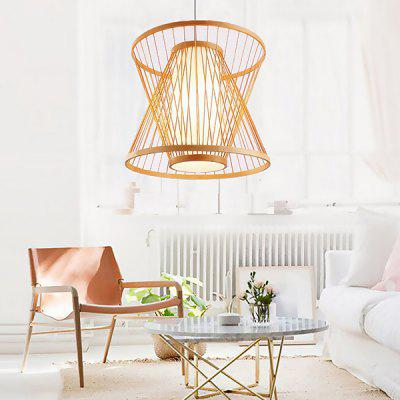 Simple Elegant Natural Bamboo Arts Pendant Light 220VPendant Light<br>Simple Elegant Natural Bamboo Arts Pendant Light 220V<br><br>Battery Included: No<br>Bulb Base: E27<br>Bulb Included: No<br>Chain / Cord Adjustable or Not: Chain / Cord Adjustable<br>Chain / Cord Length ( CM ): 100cm<br>Features: Eye Protection<br>Fixture Height ( CM ): 30cm<br>Fixture Length ( CM ): 35cm<br>Fixture Width ( CM ): 35cm<br>Light Direction: Downlight<br>Number of Bulb: 1 Bulb<br>Number of Bulb Sockets: 1<br>Package Contents: 1 x Light, 1 x Assembly Parts<br>Package size (L x W x H): 38.00 x 38.00 x 33.00 cm / 14.96 x 14.96 x 12.99 inches<br>Package weight: 3.0300 kg<br>Product weight: 2.0000 kg<br>Remote Control Supported: No<br>Shade Material: Bamboo Rattan, Grass Rattan<br>Style: Modern/Contemporary<br>Suggested Room Size: 10 - 15?<br>Suggested Space Fit: Bedroom,Boys Room,Dining Room,Kids Room,Kitchen,Study Room<br>Type: Pendant Light, Chandeliers<br>Voltage ( V ): AC220