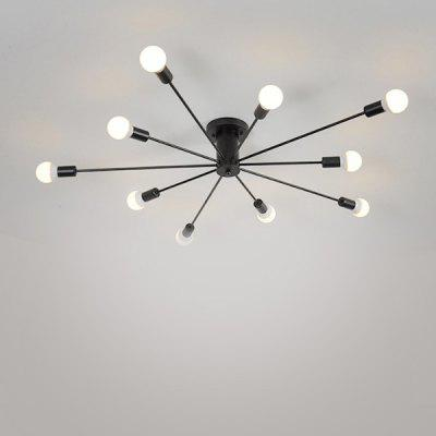 BRELONG Iron Arm Minimalist Ceiling Chandelier 220 - 240V