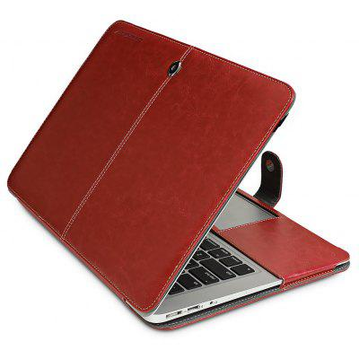 ENKAY PU Leather Cover Case Protector for MacBook Air 13.3 inch