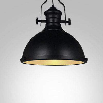 Creative Semi-circular Personality Iron Pendant Light 220V