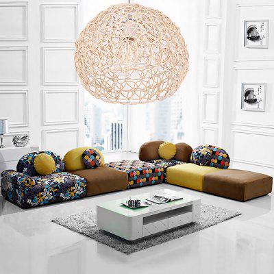 Rural Braided Rattan Creative Ball Shape Pendant Light 220VPendant Light<br>Rural Braided Rattan Creative Ball Shape Pendant Light 220V<br><br>Battery Included: No<br>Bulb Base: E27<br>Bulb Included: No<br>Chain / Cord Adjustable or Not: Chain / Cord Adjustable<br>Chain / Cord Length ( CM ): 100cm<br>Features: Eye Protection<br>Fixture Height ( CM ): 18cm<br>Fixture Length ( CM ): 25cm<br>Fixture Width ( CM ): 25cm<br>Light Direction: Downlight<br>Number of Bulb: 1 Bulb<br>Number of Bulb Sockets: 1<br>Package Contents: 1 x Light, 1 x Assembly Parts<br>Package size (L x W x H): 30.00 x 30.00 x 25.00 cm / 11.81 x 11.81 x 9.84 inches<br>Package weight: 2.0200 kg<br>Product weight: 1.0000 kg<br>Remote Control Supported: No<br>Shade Material: Grass Rattan, Bamboo Rattan<br>Style: Modern/Contemporary<br>Suggested Room Size: 10 - 15?<br>Suggested Space Fit: Bedroom,Dining Room,Kids Room,Kitchen,Study Room<br>Type: Chandeliers<br>Voltage ( V ): AC220