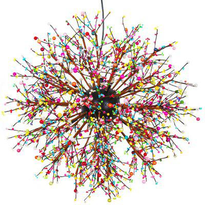Nordic Dandelion Personality Color LED Pendant Light 220VPendant Light<br>Nordic Dandelion Personality Color LED Pendant Light 220V<br><br>Battery Included: No<br>Bulb Base: G4<br>Bulb Included: No<br>Chain / Cord Adjustable or Not: Chain / Cord Adjustable<br>Chain / Cord Length ( CM ): 100cm<br>Features: Eye Protection<br>Fixture Height ( CM ): 60cm<br>Fixture Length ( CM ): 60cm<br>Fixture Width ( CM ): 60cm<br>Light Direction: Downlight<br>Number of Bulb: 8 Bulbs<br>Number of Bulb Sockets: 8<br>Package Contents: 1 x Light, 1 x Assembly Parts<br>Package size (L x W x H): 70.00 x 70.00 x 70.00 cm / 27.56 x 27.56 x 27.56 inches<br>Package weight: 4.0400 kg<br>Product weight: 3.0000 kg<br>Remote Control Supported: No<br>Shade Material: Hardware, Resin, Iron<br>Style: Modern/Contemporary<br>Suggested Room Size: 20 - 30?<br>Suggested Space Fit: Bedroom,Dining Room,Kids Room,Kitchen,Living Room,Study Room<br>Type: Pendant Light<br>Voltage ( V ): AC220