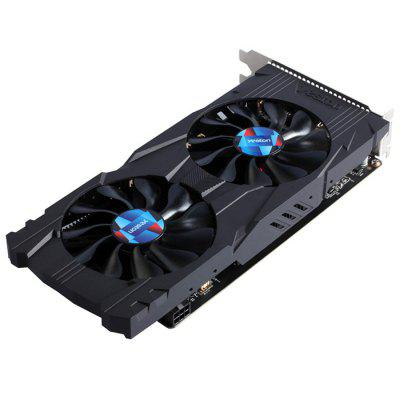 Yeston GTX1050Ti - 4G D5 7008MHz 128bit Graphics CardGraphics &amp; Video Cards<br>Yeston GTX1050Ti - 4G D5 7008MHz 128bit Graphics Card<br><br>Brand: Yeston<br>Interface: PCI-E<br>Manufacturing Process: 16nm<br>Package size: 25.00 x 13.00 x 6.00 cm / 9.84 x 5.12 x 2.36 inches<br>Package weight: 0.7990 kg<br>Packing List: 1 x Yeston GTX1050Ti - 4G D5 7008MHz 128bit GDDR5 Graphics Card<br>Product size: 23.90 x 11.00 x 4.20 cm / 9.41 x 4.33 x 1.65 inches<br>Product weight: 0.6500 kg<br>Supports System: Win7 32, Windows 10 64bit, Win8 64, Win8 32, Win7 64