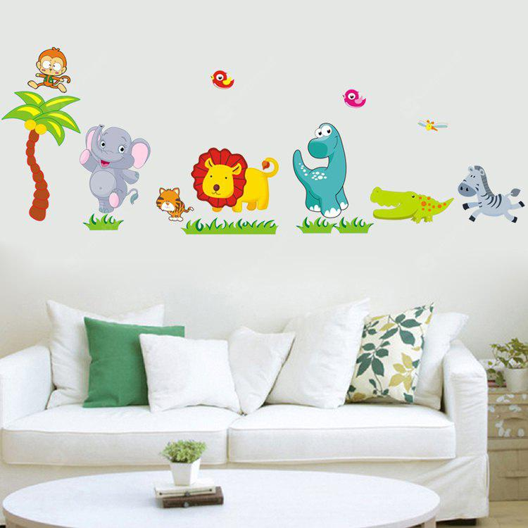 DSU Home Decor Wall Sticker of Animal Design