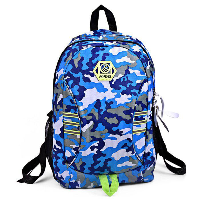 AOFENG Men Outdoor Multifunctional Camouflage Backpack