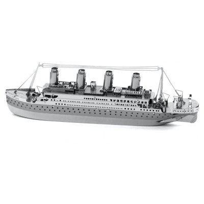 3D Intelligence Metal Puzzle Plush Cruise Ship Model