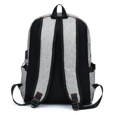 Stylish Splicing Male Backpack with USB PortBackpacks<br>Stylish Splicing Male Backpack with USB Port<br><br>Features: Wearable<br>Gender: Men<br>Material: Nylon, Canvas<br>Package Size(L x W x H): 32.00 x 3.00 x 39.00 cm / 12.6 x 1.18 x 15.35 inches<br>Package weight: 0.6200 kg<br>Packing List: 1 x Backpack<br>Product weight: 0.5700 kg<br>Style: Fashion, Casual<br>Type: Backpacks