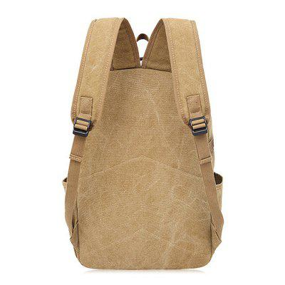 Durable Canvas Backpack for MenBackpacks<br>Durable Canvas Backpack for Men<br><br>Features: Wearable<br>Gender: Men<br>Material: Polyester, Canvas<br>Package Size(L x W x H): 46.00 x 33.00 x 6.00 cm / 18.11 x 12.99 x 2.36 inches<br>Package weight: 0.8100 kg<br>Packing List: 1 x Backpack<br>Product weight: 0.7500 kg<br>Style: Fashion, Casual<br>Type: Backpacks