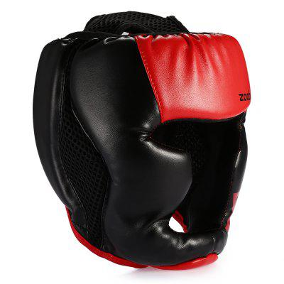Zooboo Kids / Adults PU Boxing Head Guard HeadgearSports Protective Gear<br>Zooboo Kids / Adults PU Boxing Head Guard Headgear<br><br>Brand: Zooboo<br>Package Content: 1 x Zooboo Head Guard, 1 x Storage Pouch<br>Package size: 25.00 x 22.00 x 15.00 cm / 9.84 x 8.66 x 5.91 inches<br>Package weight: 0.2900 kg<br>Size: M,S