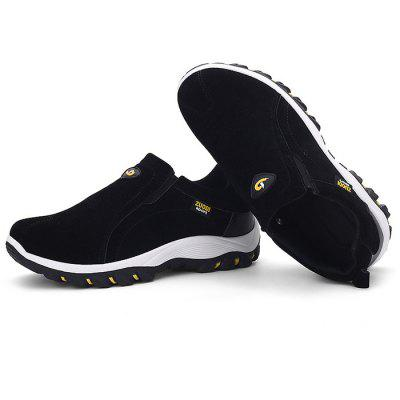 Male Breathable Soft Slip On Flat Boat Leisure ShoesCasual Shoes<br>Male Breathable Soft Slip On Flat Boat Leisure Shoes<br><br>Closure Type: Slip-On<br>Contents: 1 x Pair of Shoes<br>Function: Slip Resistant<br>Materials: Suede, Rubber<br>Occasion: Tea Party, Party, Holiday, Daily, Casual, Shopping<br>Outsole Material: Rubber<br>Package Size ( L x W x H ): 33.00 x 24.00 x 13.00 cm / 12.99 x 9.45 x 5.12 inches<br>Package Weights: 0.97kg<br>Pattern Type: Solid<br>Seasons: Autumn,Spring<br>Style: Modern, Leisure, Fashion, Comfortable, Casual<br>Toe Shape: Round Toe<br>Type: Casual Shoes<br>Upper Material: Suede