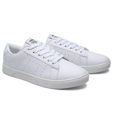 Male Casual Breathable Anti Slip Flat Leather SneakersCasual Shoes<br>Male Casual Breathable Anti Slip Flat Leather Sneakers<br><br>Closure Type: Lace-Up, Lace-Up<br>Contents: 1 x Pair of Shoes, 1 x Pair of Shoes<br>Decoration: Split Joint, Split Joint<br>Function: Slip Resistant, Slip Resistant<br>Materials: Leather, Rubber<br>Occasion: Tea Party, Sports, Shopping, Party, Office, Holiday, Sports, Tea Party, Holiday, Shopping, Party, Casual, Office, Daily<br>Outsole Material: Rubber, Rubber<br>Package Size ( L x W x H ): 33.00 x 22.00 x 11.00 cm / 12.99 x 8.66 x 4.33 inches, 33.00 x 22.00 x 11.00 cm / 12.99 x 8.66 x 4.33 inches<br>Package Weights: 0.77kg, 0.77kg<br>Pattern Type: Solid<br>Seasons: Autumn,Spring, Autumn,Spring<br>Style: Modern, Leisure, Fashion, Fashion, Leisure, Modern, Comfortable, Casual, Casual, Comfortable<br>Toe Shape: Round Toe, Round Toe<br>Type: Casual Leather Shoes<br>Upper Material: Leather, Leather