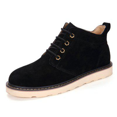 Male Casual Soft Anti Slip Stitching High Top Leather ShoesCasual Shoes<br>Male Casual Soft Anti Slip Stitching High Top Leather Shoes<br><br>Closure Type: Lace-Up<br>Contents: 1 x Pair of Shoes<br>Function: Slip Resistant<br>Materials: Rubber, Leather<br>Occasion: Tea Party, Shopping, Office, Holiday, Daily, Casual, Party<br>Outsole Material: Rubber<br>Package Size ( L x W x H ): 33.00 x 24.00 x 13.00 cm / 12.99 x 9.45 x 5.12 inches<br>Package Weights: 1.02kg<br>Pattern Type: Solid<br>Seasons: Autumn,Spring<br>Style: Modern, Leisure, Fashion, Comfortable, Casual, Business<br>Toe Shape: Round Toe<br>Type: Casual Leather Shoes<br>Upper Material: Leather