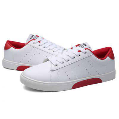 Male Casual Breathable Anti Slip Flat Leather SneakersCasual Shoes<br>Male Casual Breathable Anti Slip Flat Leather Sneakers<br><br>Closure Type: Lace-Up, Lace-Up<br>Contents: 1 x Pair of Shoes, 1 x Pair of Shoes<br>Decoration: Split Joint, Split Joint<br>Function: Slip Resistant, Slip Resistant<br>Materials: Rubber, Leather<br>Occasion: Tea Party, Sports, Shopping, Party, Office, Holiday, Holiday, Shopping, Daily, Sports, Office, Tea Party, Casual, Daily, Party<br>Outsole Material: Rubber, Rubber<br>Package Size ( L x W x H ): 33.00 x 22.00 x 11.00 cm / 12.99 x 8.66 x 4.33 inches, 33.00 x 22.00 x 11.00 cm / 12.99 x 8.66 x 4.33 inches<br>Package Weights: 0.77kg, 0.77kg<br>Pattern Type: Solid<br>Seasons: Autumn,Spring, Autumn,Spring<br>Style: Modern, Leisure, Fashion, Comfortable, Fashion, Casual, Modern, Leisure, Casual, Comfortable<br>Toe Shape: Round Toe, Round Toe<br>Type: Casual Leather Shoes<br>Upper Material: Leather, Leather