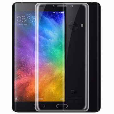Naxtop 0.3mm 9H 3D Transparent Curve Tempered Glass Screen Film for Xiaomi Mi Note 2 - 2PCS