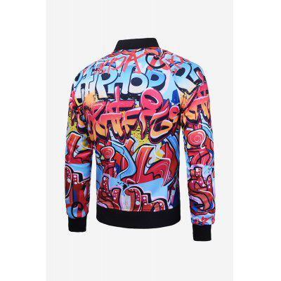 Creative Outwear for MenMens Jackets &amp; Coats<br>Creative Outwear for Men<br><br>Closure Type: Zipper, Zipper<br>Clothes Type: Jackets<br>Embellishment: Zippers, Zippers<br>Materials: Polyester<br>Package Content: 1 x Jacket, 1 x Jacket<br>Package Dimension: 20.00 x 20.00 x 2.00 cm / 7.87 x 7.87 x 0.79 inches, 20.00 x 20.00 x 2.00 cm / 7.87 x 7.87 x 0.79 inches<br>Package weight: 0.6200 kg, 0.6200 kg<br>Pattern Type: Letter, Letter<br>Product weight: 0.5800 kg, 0.5800 kg<br>Seasons: Autumn,Spring,Summer<br>Shirt Length: Regular<br>Sleeve Length: Long Sleeves, Long Sleeves<br>Style: Fashion, Casual<br>Thickness: Medium thickness, Medium thickness