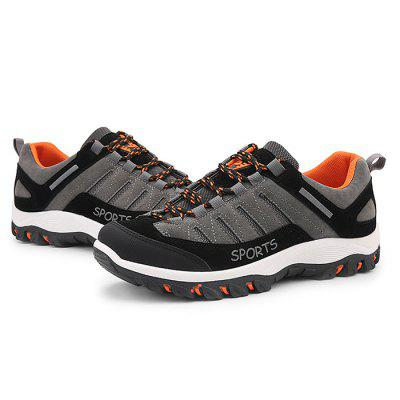 Male Wearable Anti Slip Light Outdoor Hiking SneakersMen's Sneakers<br>Male Wearable Anti Slip Light Outdoor Hiking Sneakers<br><br>Closure Type: Lace-Up<br>Contents: 1 x Pair of Shoes<br>Function: Slip Resistant<br>Materials: Rubber, Flannel<br>Occasion: Sports, Shopping, Outdoor Clothing, Holiday, Daily, Casual, Running<br>Outsole Material: Rubber<br>Package Size ( L x W x H ): 33.00 x 24.00 x 13.00 cm / 12.99 x 9.45 x 5.12 inches<br>Package Weights: 0.97kg<br>Pattern Type: Letter<br>Seasons: Autumn,Spring<br>Style: Modern, Leisure, Fashion, Comfortable, Casual<br>Toe Shape: Round Toe<br>Type: Sports Shoes<br>Upper Material: Flannel