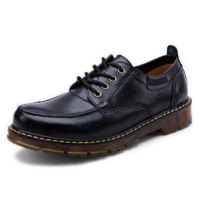 Male Business Casual Anti Slip Lace Up Leather Martin ShoesFormal Shoes<br>Male Business Casual Anti Slip Lace Up Leather Martin Shoes<br><br>Closure Type: Lace-Up<br>Contents: 1 x Pair of Shoes<br>Materials: Genuine Leather, TPR<br>Occasion: Tea Party, Shopping, Party, Office, Formal, Daily, Casual<br>Outsole Material: TPR<br>Package Size ( L x W x H ): 33.00 x 24.00 x 13.00 cm / 12.99 x 9.45 x 5.12 inches<br>Package Weights: 1.12kg<br>Pattern Type: Solid<br>Seasons: Autumn,Spring<br>Style: Modern, Leisure, Formal, Fashion, Comfortable, Casual, Business<br>Toe Shape: Round Toe<br>Type: Casual Leather Shoes<br>Upper Material: Genuine Leather