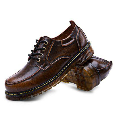 Male Business Casual Anti Slip Lace Up Leather Martin ShoesFormal Shoes<br>Male Business Casual Anti Slip Lace Up Leather Martin Shoes<br><br>Closure Type: Lace-Up, Lace-Up<br>Contents: 1 x Pair of Shoes, 1 x Pair of Shoes<br>Materials: Genuine Leather, TPR<br>Occasion: Shopping, Party, Office, Tea Party, Formal, Daily, Tea Party, Casual<br>Outsole Material: TPR, TPR<br>Package Size ( L x W x H ): 33.00 x 24.00 x 13.00 cm / 12.99 x 9.45 x 5.12 inches, 33.00 x 24.00 x 13.00 cm / 12.99 x 9.45 x 5.12 inches<br>Package Weights: 1.12kg, 1.12kg<br>Pattern Type: Solid<br>Seasons: Autumn,Spring, Autumn,Spring<br>Style: Business, Formal, Leisure, Modern, Comfortable, Casual, Fashion, Leisure, Modern, Fashion, Comfortable, Casual, Business, Formal<br>Toe Shape: Round Toe, Round Toe<br>Type: Casual Leather Shoes<br>Upper Material: Genuine Leather, Genuine Leather