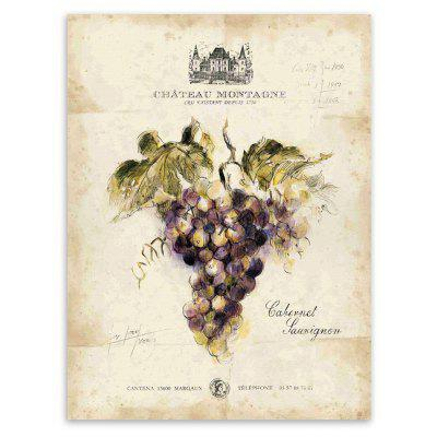 Classical Grape Canvas Print Artwork Modern Wall Art Unframed Home Decoration