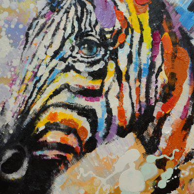 YHHP Zebra Head Canvas Oil PaintingOil Paintings<br>YHHP Zebra Head Canvas Oil Painting<br><br>Brand: YHHP<br>Craft: Oil Painting<br>Form: One Panel<br>Material: Canvas<br>Package Contents: 1 x Painting<br>Package size (L x W x H): 72.00 x 4.00 x 4.00 cm / 28.35 x 1.57 x 1.57 inches<br>Package weight: 0.2200 kg<br>Painting: Without Inner Frame<br>Product size (L x W x H): 60.00 x 60.00 x 1.00 cm / 23.62 x 23.62 x 0.39 inches<br>Product weight: 0.1500 kg<br>Shape: Square<br>Style: Animal<br>Subjects: Animal<br>Suitable Space: Bedroom,Living Room