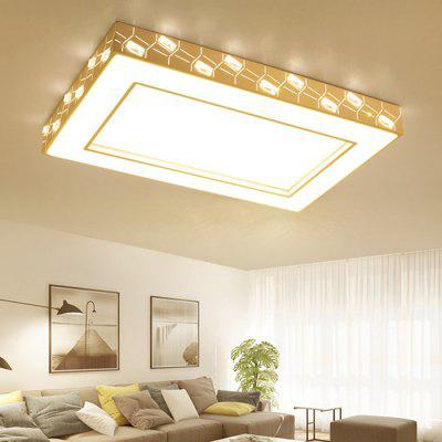 BRELONG 5730SMD Rectangular Ceiling Light AC85 - 260VFlush Ceiling Lights<br>BRELONG 5730SMD Rectangular Ceiling Light AC85 - 260V<br><br>Beam Angle: 360 degree<br>Brand: BRELONG<br>Illumination Field: 20 - 35sqm<br>LED Number : 160pcs<br>Luminous Flux: 7200LM<br>Optional Light Color: Warm White,White<br>Package Contents: 1 x Light<br>Package size (L x W x H): 100.00 x 70.00 x 15.00 cm / 39.37 x 27.56 x 5.91 inches<br>Package weight: 8.5400 kg<br>Product size (L x W x H): 96.00 x 63.00 x 10.00 cm / 37.8 x 24.8 x 3.94 inches<br>Product weight: 8.0000 kg<br>Sheathing Material: PVC, Metal<br>Type: Ceiling Lights<br>Voltage (V): AC 90-260<br>Wavelength / CCT: 3000-3500K,6000-6500K