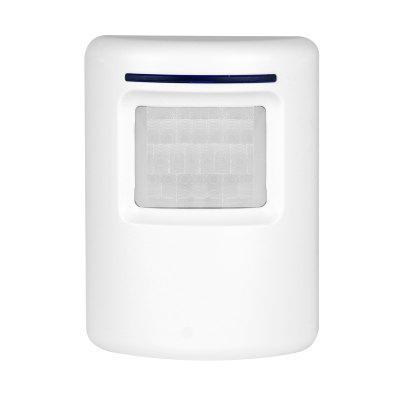 Store Household Sensor DoorbellDoorbell<br>Store Household Sensor Doorbell<br><br>Appliance Type: Smart Doorbells<br>Package Contents: 1 x Receiver, 1 x Transmitter, 1 x Manual<br>Package size (L x W x H): 17.50 x 11.00 x 7.50 cm / 6.89 x 4.33 x 2.95 inches<br>Package weight: 0.2400 kg<br>Product size (L x W x H): 8.00 x 7.60 x 4.50 cm / 3.15 x 2.99 x 1.77 inches<br>Product weight: 0.1400 kg