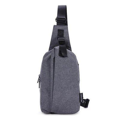 Men Leisure Water-resistant Nylon Chest BagBackpacks<br>Men Leisure Water-resistant Nylon Chest Bag<br><br>Features: Wearable<br>Gender: Men<br>Material: Nylon<br>Package Size(L x W x H): 26.00 x 20.00 x 4.00 cm / 10.24 x 7.87 x 1.57 inches<br>Package weight: 0.4600 kg<br>Packing List: 1 x Chest Bag<br>Product weight: 0.4000 kg<br>Style: Casual, Fashion<br>Type: Shoulder bag