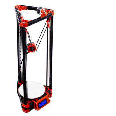 FLSUN FL - K Base Delta 3D Printer Kit3D Printers, 3D Printer Kits<br>FLSUN FL - K Base Delta 3D Printer Kit<br><br>Brand: FLSUN<br>Engraving Area: 300 x 400 x 680mm<br>File format: G-code, STL<br>Frame material: Aluminum<br>Host computer software: Cura,Repetier-Host<br>Layer thickness: 0.05-0.4mm<br>LCD Screen: Yes<br>Material diameter: 1.75mm<br>Memory card offline print: SD card<br>Model: FL-K Base<br>Nozzle diameter: 0.4mm<br>Nozzle quantity: Single<br>Package size: 70.00 x 33.00 x 10.00 cm / 27.56 x 12.99 x 3.94 inches<br>Package weight: 7.0500 kg<br>Packing Contents: 1 x 3D Printer, 1 x Assembly Part, 1 x English User Manual<br>Platform board: Aluminum Base<br>Print speed: 20 - 150mm / s<br>Product forming size: 180mm x 300mm<br>Product size: 70.00 x 33.00 x 10.00 cm / 27.56 x 12.99 x 3.94 inches<br>Product weight: 7.0000 kg<br>Supporting material: PLA, ABS, HIPS, Wood<br>Type: DIY<br>Voltage Range: 110 - 230V