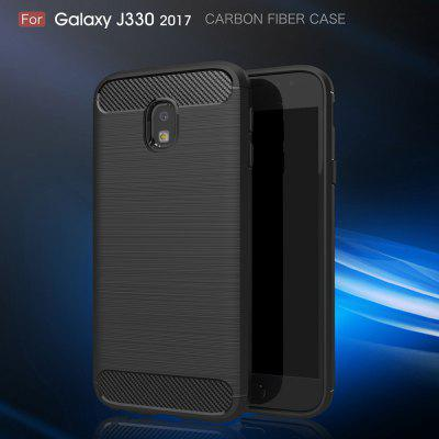 Wkae Case Solid Color Carbon Fiber Texture TPU Soft Protective Case for Samsung  Galaxy J330 2017Samsung J Series<br>Wkae Case Solid Color Carbon Fiber Texture TPU Soft Protective Case for Samsung  Galaxy J330 2017<br><br>Color: Black,Red,Gray,Cadetblue<br>Features: Back Cover<br>Material: TPU, Carbon<br>Package Contents: 1 x phone case<br>Style: Solid Color