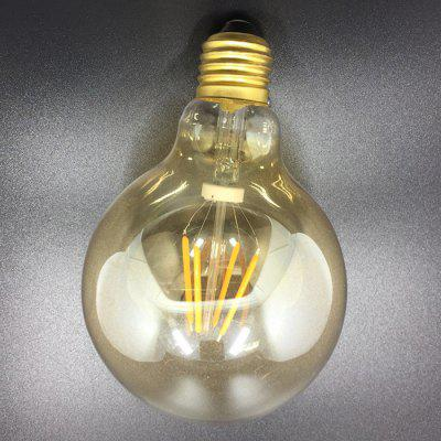 E27 4W Glass LED Filament Bulb for Decorative Lamp 220VGlobe bulbs<br>E27 4W Glass LED Filament Bulb for Decorative Lamp 220V<br><br>Angle: 360 Degree<br>Available Light Color: Warm White<br>CCT/Wavelength: 3000K<br>Certifications: CE,RoHs<br>Features: Low Power Consumption, Long Life Expectancy, Energy Saving<br>Function: Commercial Lighting, Home Lighting<br>Holder: E27<br>Lifespan: 30000 Hours<br>Luminous Flux: 397<br>Package Contents: 1 x LED Filament Bulb<br>Package size (L x W x H): 17.00 x 11.50 x 11.50 cm / 6.69 x 4.53 x 4.53 inches<br>Package weight: 0.1540 kg<br>Product size (L x W x H): 13.90 x 9.30 x 9.30 cm / 5.47 x 3.66 x 3.66 inches<br>Product weight: 0.0570 kg<br>Sheathing Material: Glass<br>Type: Ball Bulbs<br>Voltage (V): AC 220V