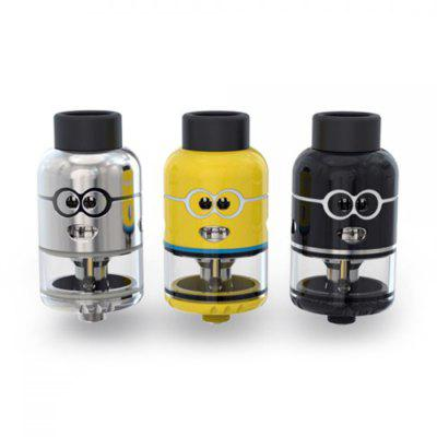 Ample Pixy RDTA 4.5ml AtomizerRebuildable Atomizers<br>Ample Pixy RDTA 4.5ml Atomizer<br><br>Material: Glass, Stainless Steel<br>Package Contents: 1 x Pixy RDTA, 1 x Replacement Glass Tube, 1 x Allen Key, 4 x M2.5X3 Screw, 2 x Heating Wire, 4 x Cotton, 6 x O-ring<br>Package size (L x W x H): 8.60 x 6.50 x 4.50 cm / 3.39 x 2.56 x 1.77 inches<br>Package weight: 0.1800 kg<br>Product size (L x W x H): 4.60 x 2.50 x 2.50 cm / 1.81 x 0.98 x 0.98 inches<br>Product weight: 0.0580 kg<br>Rebuildable Atomizer: RBA,RDA,RTA<br>Thread: 510<br>Type: Tank Atomizer, Rebuildable Drippers, Rebuildable Atomizer