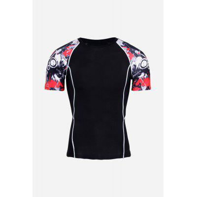 Male Cool Quick Dry Short Sleeve Compression ClothesWeight Lifting Clothes<br>Male Cool Quick Dry Short Sleeve Compression Clothes<br><br>Features: Quick Dry<br>Gender: Men<br>Material: Polyester<br>Package Content: 1 x T Shirt, 1 x Pair of Leggings<br>Package size: 36.00 x 24.00 x 3.00 cm / 14.17 x 9.45 x 1.18 inches<br>Package weight: 0.3600 kg<br>Product weight: 0.3200 kg<br>Type: Short Sleeves