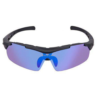 Buy BLUE AND BLACK XS003 Unisex Protective Polarized Lens Cycling Glasses for $19.54 in GearBest store