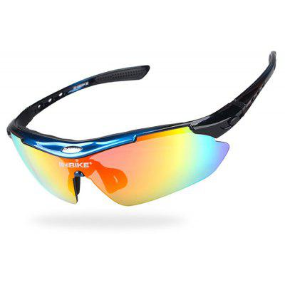 Buy BLUE AND BLACK INBIKE IG619 Protective Polarized Lens Cycling Glasses for $16.80 in GearBest store