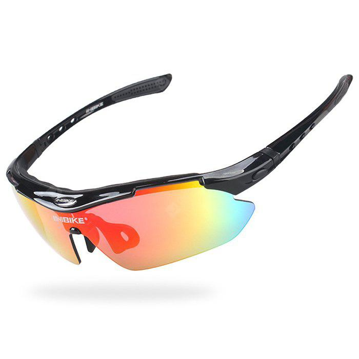 BLACK INBIKE IG619 Protective Polarized Lens Cycling Glasses