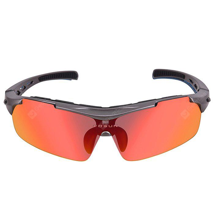 PEARL DARK GREY XS003 Unisex Protective Polarized Lens Cycling Glasses