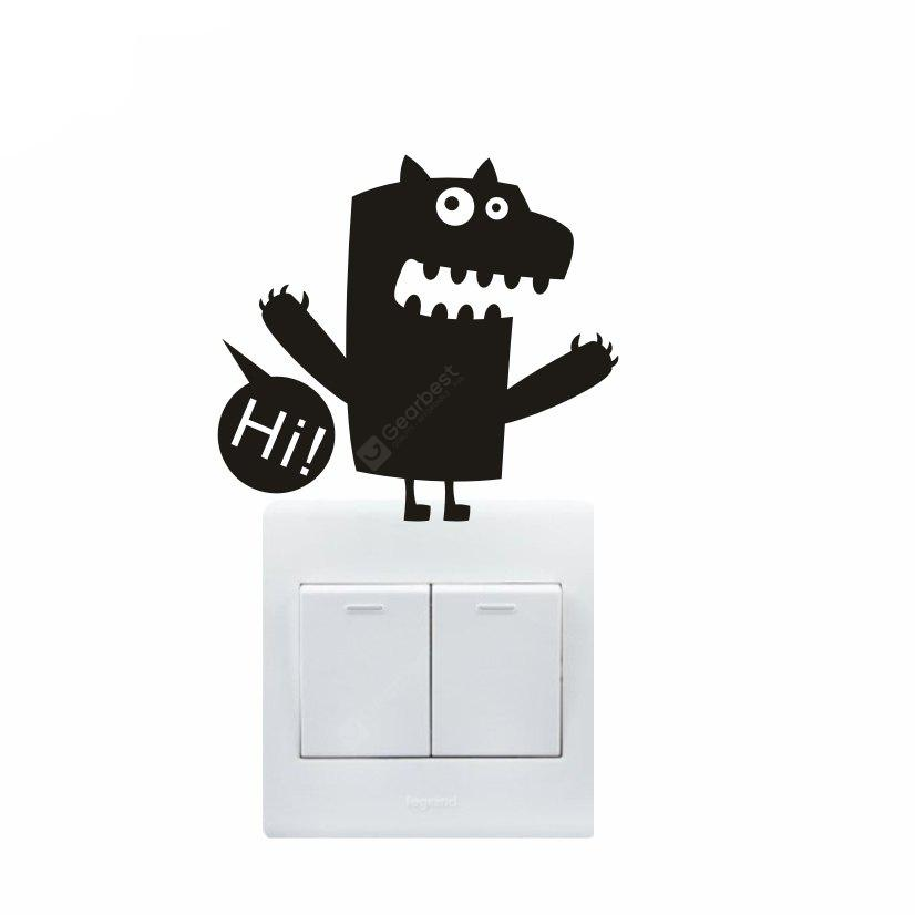 Creative Cartoon Monster Design Sticker