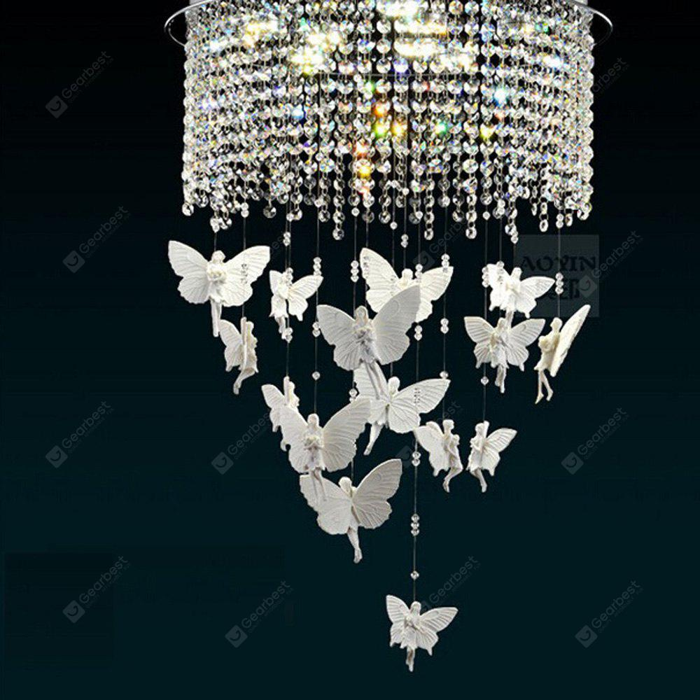 Fashion Creative Crystal Angel Shape LED Chandelier 220V