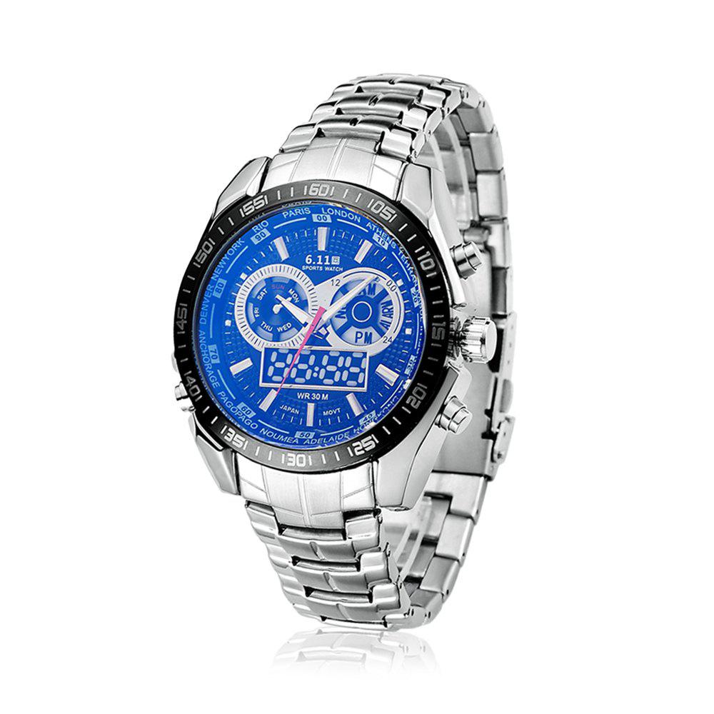 6.11 F633G Water Resistant Luminous Military Men Watch