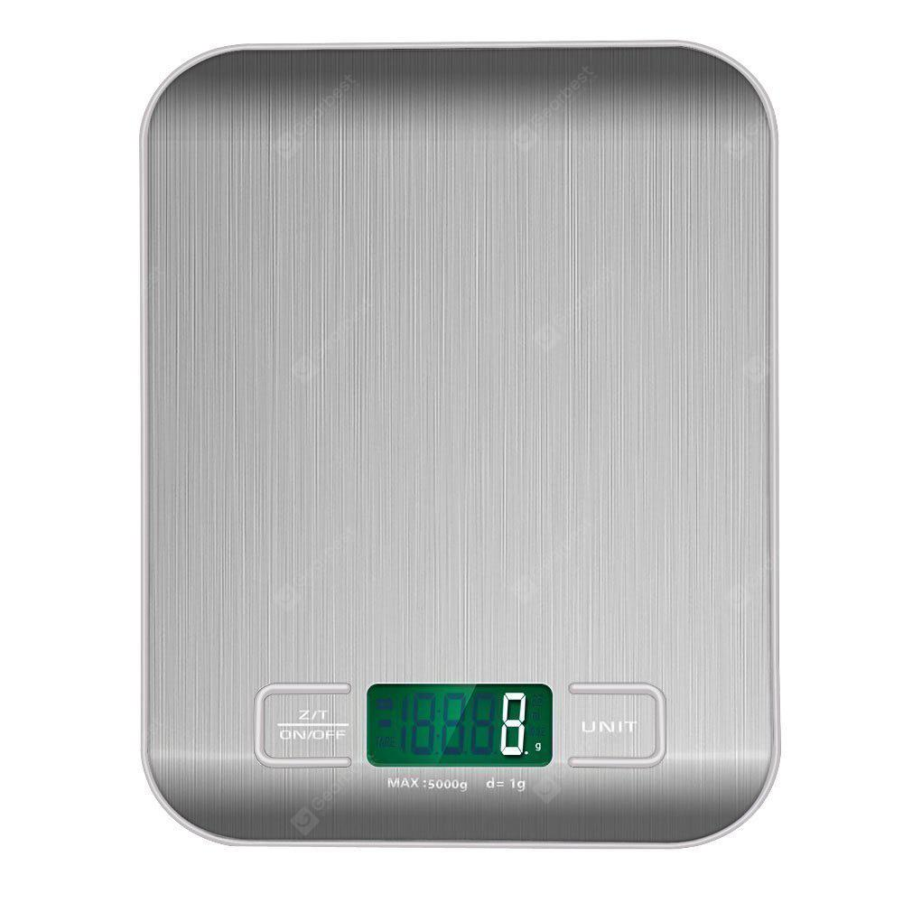 SILVER Stainless Steel Kitchen Mini Scale