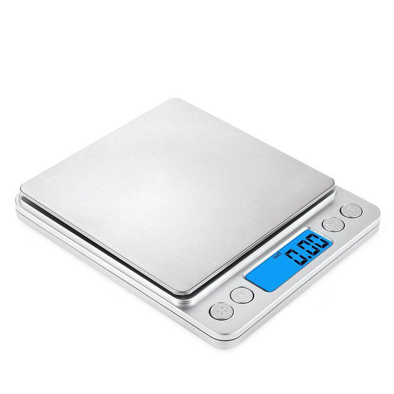 SILVER Stainless Steel Jewelry Electronic Scale