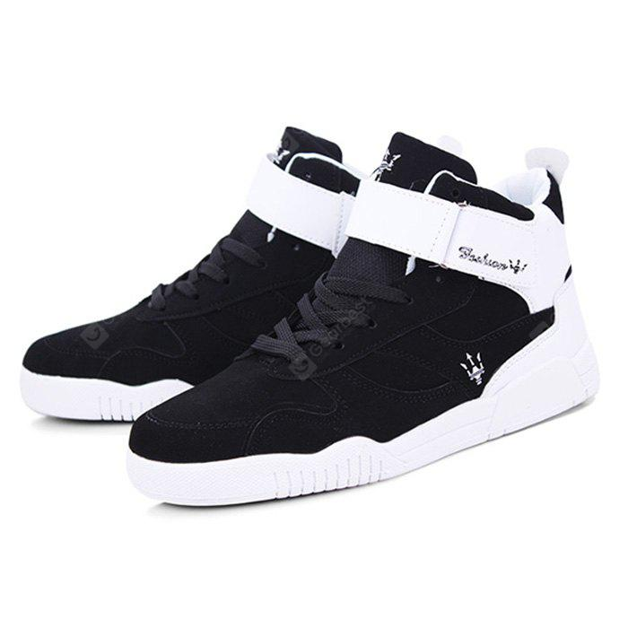 Male Breathable Mesh Elastic High Top Leisure Shoes outlet fake reliable sale online cheap collections factory outlet cheap price cheap sale big sale e5s3su1