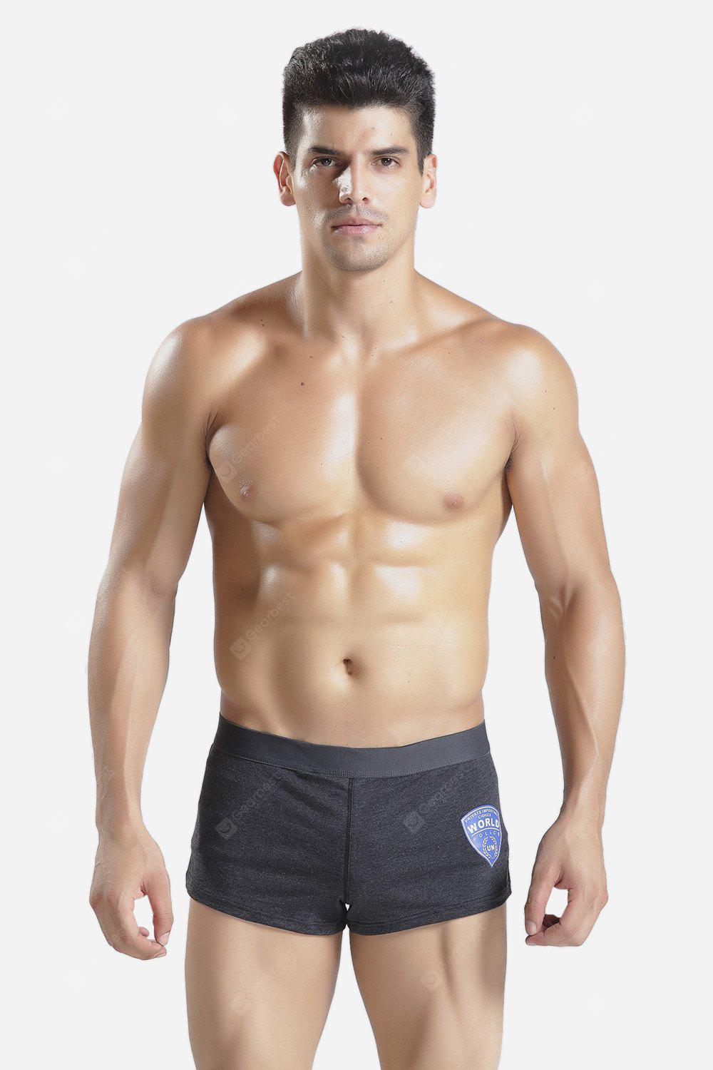 Male Stylish Leisure Sports Boxer Shorts